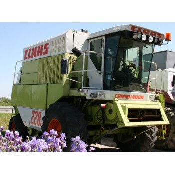 Сламотръсен зърнокомбайн Claas Comanndor 228CS